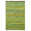 Fab Hab Cancun Cotton Green Rug