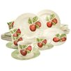 Creatable Stoneware New Orchard 30 Piece Dinnerware Set, Service for 6