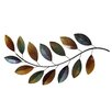 Stratton Home Decor Metal Leaves Wall Décor