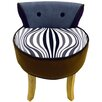 House Additions Low Back Dressing Table Stool