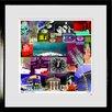 RareArtStudios Londres Mural Limited Edition Framed Graphic Art