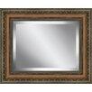 Ashton Wall Décor LLC Rectangle  Antique Framed Beveled Plate Glass Mirror