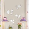 MirrorArt Stars Mirror Wall Sticker Set