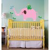 Pop Decors Elephant, Frog Wall Decal