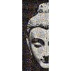 RareArtStudios Shy Buddha Mosaic Limited Edition Graphic Art on Canvas