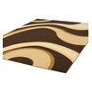 Ultimate Rug Co Rapello Milano Hand-Woven Chocolate/Beige Area Rug