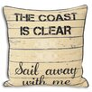 House Additions Seascape Cushion Cover