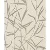"""Washington Wallcoverings Barbara Becker Home Passion Accent Reed 33' x 20.5"""" Botanical 3D Embossed Wallpaper"""