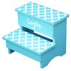 Renditions by Reesa Trellis Personalized Step Stool