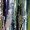 Artist Lane Quirt Mist by Sally Adams Art Print Wrapped on Canvas