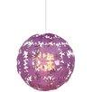 Naeve Leuchten Young Living Flowers 1 Light Globe Pendant