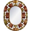 House Additions Knightsbridge Metal Mirror Oval