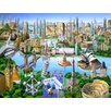 Signs 2 All World Landmarks by Adrian Chesterman Graphic Art