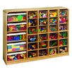 Korners for Kids 30 Compartment Cubby with Casters