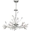 Searchlight 5 Light Crystal Chandelier