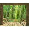 Walltastic View Woodland Forest 2.44m x 3.05m Wall Mural