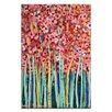 Artist Lane Pink Jonquils by Anna Blatman Art Print on Canvas