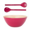Rebu Table Top Bamboo Salad Bowl and Server Set