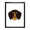 Star Editions Animaru Rottweiler Dog Framed Graphic Art