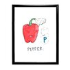 Star Editions Doodles Pepper Framed Art Print