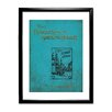 Star Editions Classic Book Art The Adventures of Sherlock Holmes Framed Vintage Advertisement
