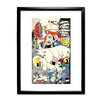Star Editions Moomins the Lovable Moomins Framed Graphic Art