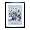 Star Editions Classic Book Art - The Importance of Being Earnest by Oscar Wilde Framed Typography