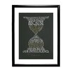 Star Editions Classic Book Art Time Machine Framed Typography