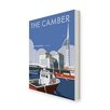 Star Editions The Camber, Portsmouth by Dave Thompson Vintage Advertisement Wrapped on Canvas