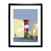 Star Editions Lighthouse by Dave Thompson Framed Graphic Art