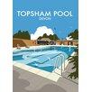 Star Editions Topsham Pool/Devon by Dave Thompson Graphic Art Print