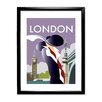 Star Editions London by Dave Thompson Framed Vintage Advertisement
