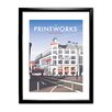 Star Editions The Printworks, Manchester by Dave Thompson Framed Vintage Advertisement