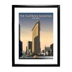 Star Editions The Flatiron Building, New York by Dave Thompson Framed Vintage Advertisement