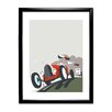 Star Editions Goodwood by Dave Thompson Framed Graphic Art