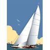 Star Editions Sailing Boat by Dave Thompson Graphic Art