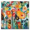Artist Lane Palette Poppies by Anna Blatman Art Print on Canvas