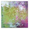 Artist Lane Pink Square 2 by Gill Cohn Art Print on Canvas