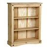 Heartlands Furniture Rustic Corona 100cm Standard Bookcase