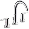 Delta Trinsic® Bathroom Standard Faucet Lever Handle Bathroom Faucet with Drain Assembly