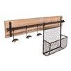 Wildon Home ® Hampton Entryway Wall Coat Rack with Storage