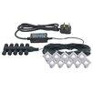 Saxby Lighting Ikon 10 Light LED Deck, Step and Rail Lights Set