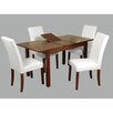 Homestead Living Deledda Extendable Dining Table and 4 Chairs