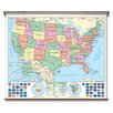 Universal Map Essential Wall Map - United States