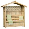 Zest 4 Leisure Hampshire Arbour with Storage