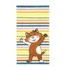 talis Vertriebs GmbH Gustav Bubibatz is Happy Multi-Coloured Children's Area Rug
