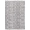 Dash & Albert Europe Fair Isle Hand-Woven Grey Area Rug