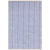 Dash & Albert Europe Fair Isle Blue Area Rug