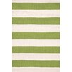 Dash & Albert Europe Catamaran Green/Beige Indoor/Outdoor Area Rug