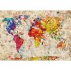 Lés papiers de Ninon All The World Art Print